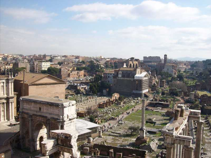 Форум у Римі - пам'ятне місце М. С.…