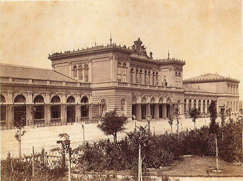Вокзал у Відні (1904 р.) - пам'ятне…