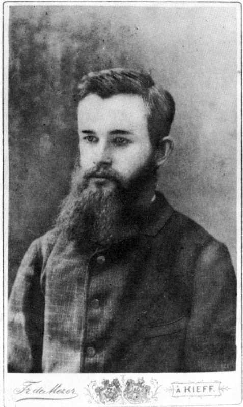 Михайло Грушевський - фото 1889 р.