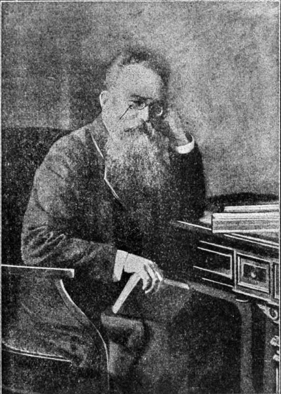 Mykhajlo Hrushevsky - photo in 1905