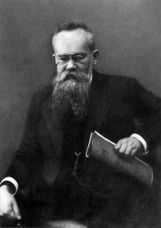 Mykhajlo Hrushevsky - photo in 1910