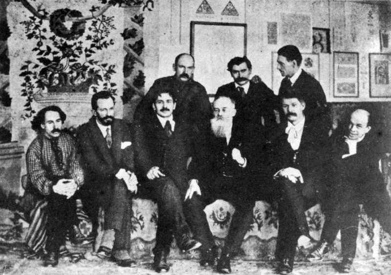 Михайло Грушевський серед засновників…