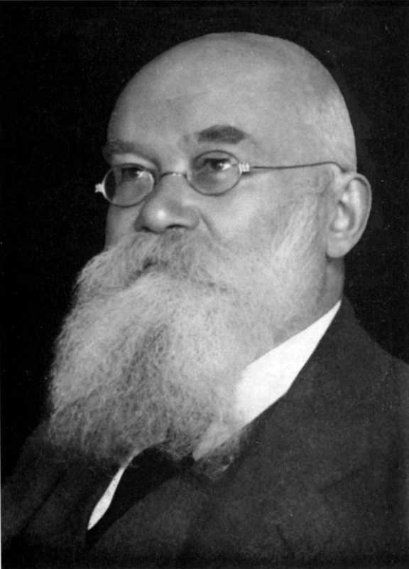 Михайло Грушевський. Фото 1926 р., з нагоди 60-літнього ювілею.