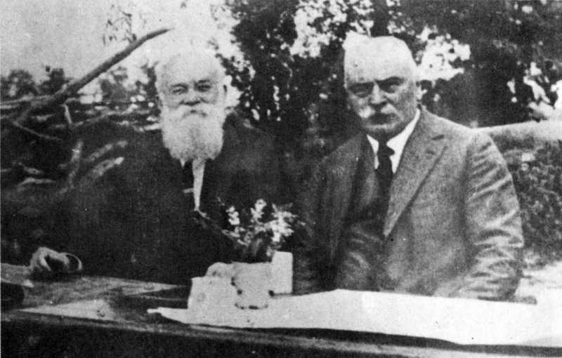 М.Грушевский и К.Студинский - фото…