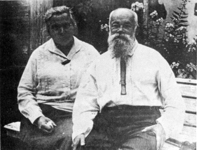 Михайло Грушевський з дружиною – фото…